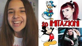 Download 20 IMITAZIONI DI YOUTUBER E PERSONAGGI DISNEY | SIVI SHOW 3Gp Mp4