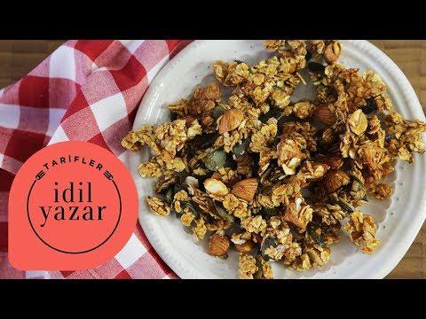 Granola Nasıl Yapılır ? - İdil Tatari - Yemek Tarifleri