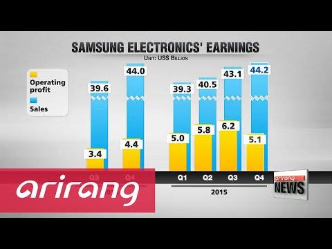 Samsung Electronics Q4 operating profit falls sharply on-quarter