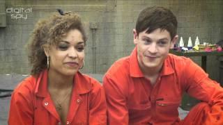 Antonia Thomas and Iwan Rheon on Misfits season 3