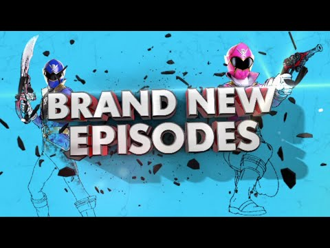 BRAND NEW Power Rangers Super Megaforce Episodes - August 30th
