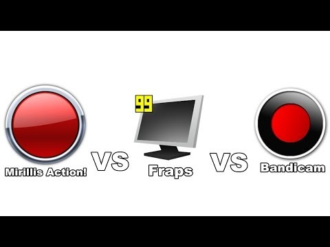 Mirillis Action! VS Fraps VS Bandicam Comparison   Which is Best?