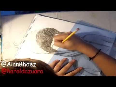 Dibujando a Harold Azuara :D