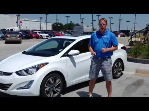 New 2015 Hyundai Elantra Test Drive Walkaround Review in Oklahoma City. Edmond. & Norman. OK
