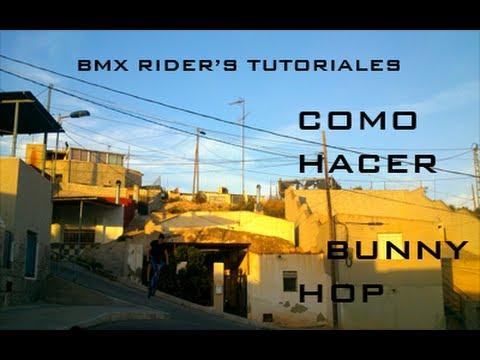 Como hacer Bunny Hop en BMX