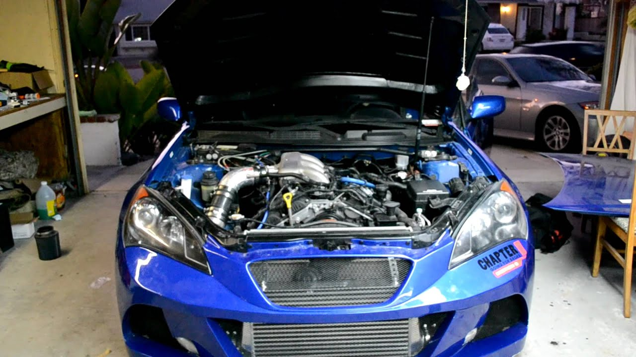 Hyundai Genesis Coupe 3 8l Turbo Youtube