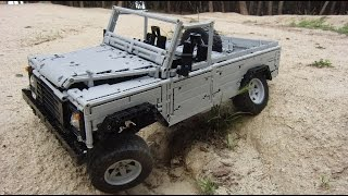 LEGO Land-Rover Defender 110, FULL REMOTE CONTROLLED!!! by Sheepo