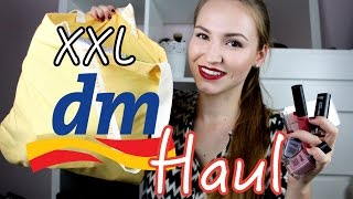 XXL dm Haul (Sep 2015) | Lena