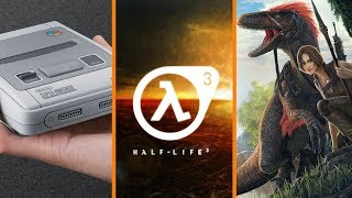 SNES Classic Stock Rumors + Half-Life 3 Game Jam + Ark Refund Protest - The Know