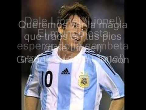 Dale Lionel-cansion de messi