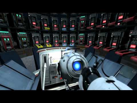 Portal 2 GLaDOS Wakes Up