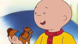 Caillou Full Episodes   Caillou's Toy Horse   Cartoons for Children   #CaillouHolidayFun