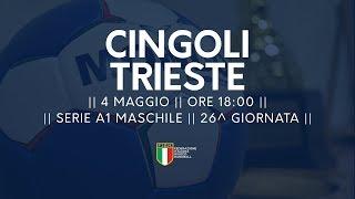 Serie A1M [26^]: Cingoli - Trieste 29-27