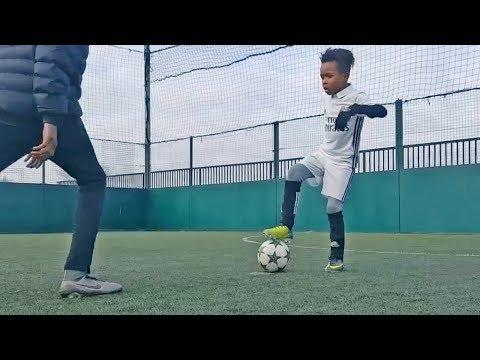 Most Beautiful Skills & Tricks by Kids in Futsal/Football #3