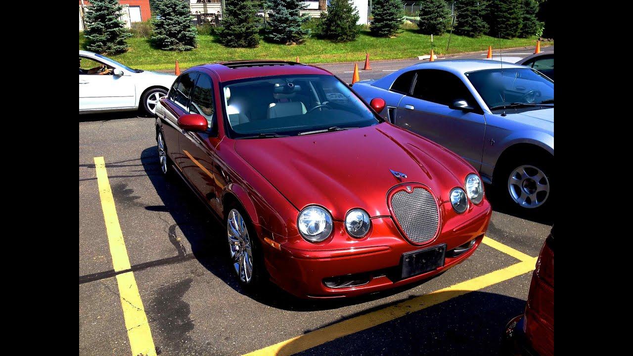 2003 jaguar s type r supercharged 4 2l v8 start up