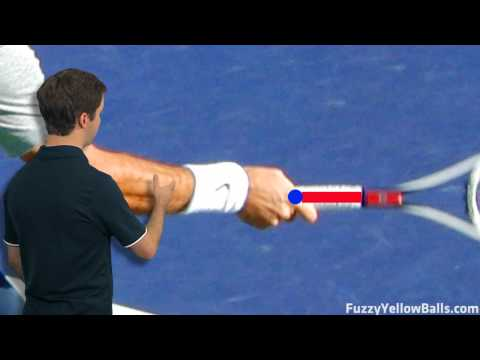 Roger Federer's Forehand Grip Video