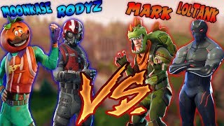 Rodyz e Moonkase Versus Mark e LoL tank ( Fortnite: Battle Royale )