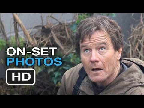 Godzilla On Set Photos (2014) - Bryan Cranston Movie HD