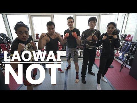 Laowai not: Dancing in the ring
