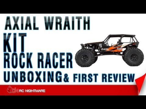 Axial Wraith Rock Racer Kit Unboxing & First Review