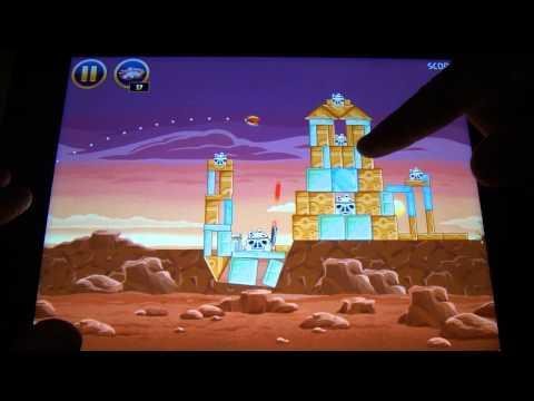 Angry Birds Star Wars Review + pelúcias da coleção(HD)