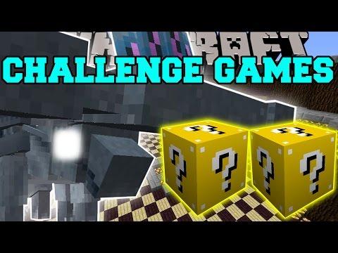 Minecraft: Hammerhead Challenge Games - Lucky Block Mod - Modded Mini-game video