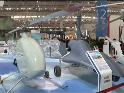 CETC Showcases World leading Swarming Drone Technology at Zhuhai Airshow