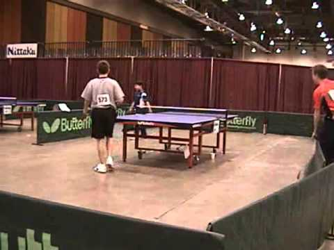 Scott Lurty, Ming Curran, Alex Yao - King of the Table - Table Tennis