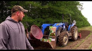 Deer Hunting~Planting Food Plots 2015