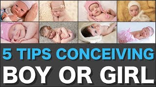 Conceive a Boy or Pregnant With a Girl? 😊 Check Out These 5 Tips 👍