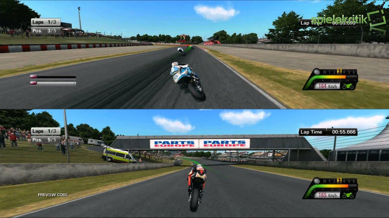 "Moto GP 13: Gameplay #11 - ""Splitscreen in Catalunya, and ..."