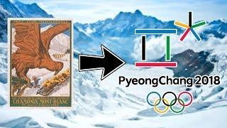 Winter Olympic Games Logo Evolution