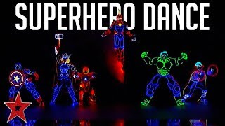 MARVELLOUS SUPERHERO Dance By Light Balance Kids On America's Got Talent 2019 | Got Talent Global
