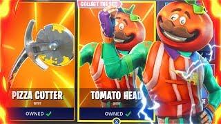 TOMATO HEAD New Free Skins Bundle In Fortnite Battle Royale! (New Tomato Head Fortnite Skins Update)