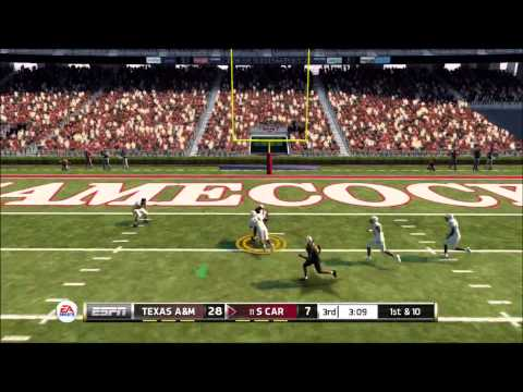NCAA Football 13 - Texas A&M @ South Carolina (C4 League Game)