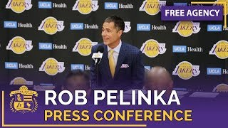 Rob Pelinka Press Conference About Lakers Free Agency (Full Video With Time Stamps!)