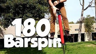 180 Barspin & X-Up | Vurtego Beginner Pogo Tutorials
