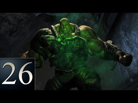 Batman: Arkham Origins - Part 26 - Defeat Bane - Gameplay Walkthrough