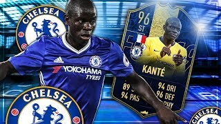 FIFA 19: TOTY KANTE ST SBB 🔥 Squadbuilder Battle vs Gamerbrother
