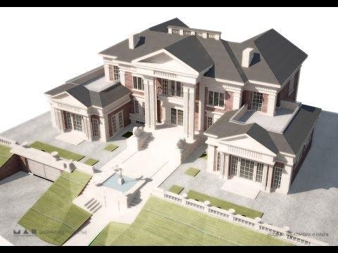 Строим новый дом сделанный реальным архитектором! Часть 1