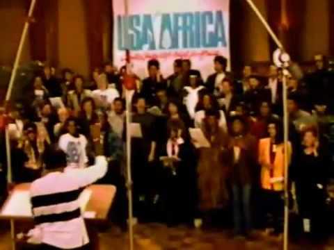 We Are The World - Michael Jackson Lionel Richie Cindy Lauper...