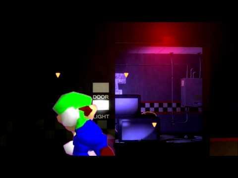 Luigi em Five Nights at Freddy's - Curtas do LW
