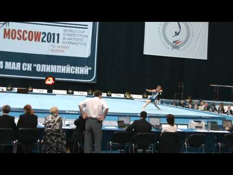 Steven Legendre Floor Q World Stars FIG World Cup 2011 Moscow