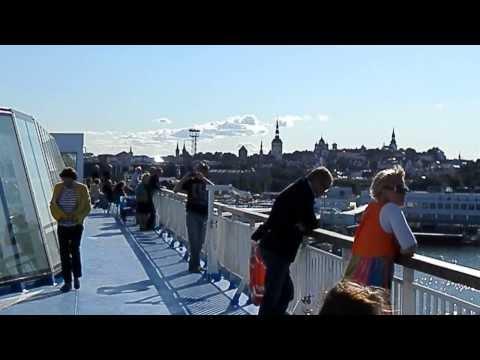 Depart du bateau de Tallinn a Helsinki