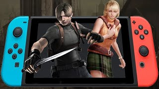 Resident Evil 4 (Nintendo Switch): Quick Look