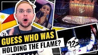 SEA Games 2019 Opening Ceremony Finale - I LOVED IT!!! | HONEST REACTION