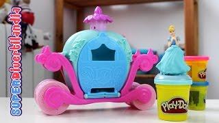 Palacio de las princesas de play doh ariel rapunzel y - Carroza cenicienta juguete ...