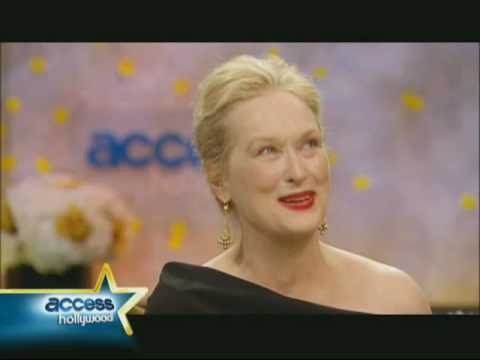 Backstage Interview With Meryl Streep - 2010 Golden Globe Awards
