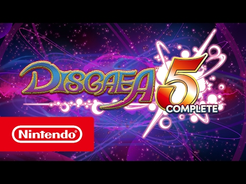 Disgaea 5 Complete - Trailer (Nintendo Switch)