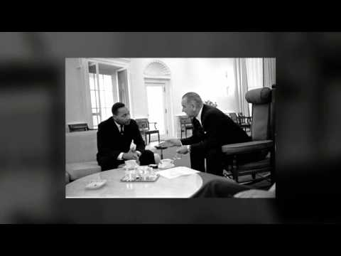 Lyndon Johnson Places a Call to Martin Luther King, Jr.